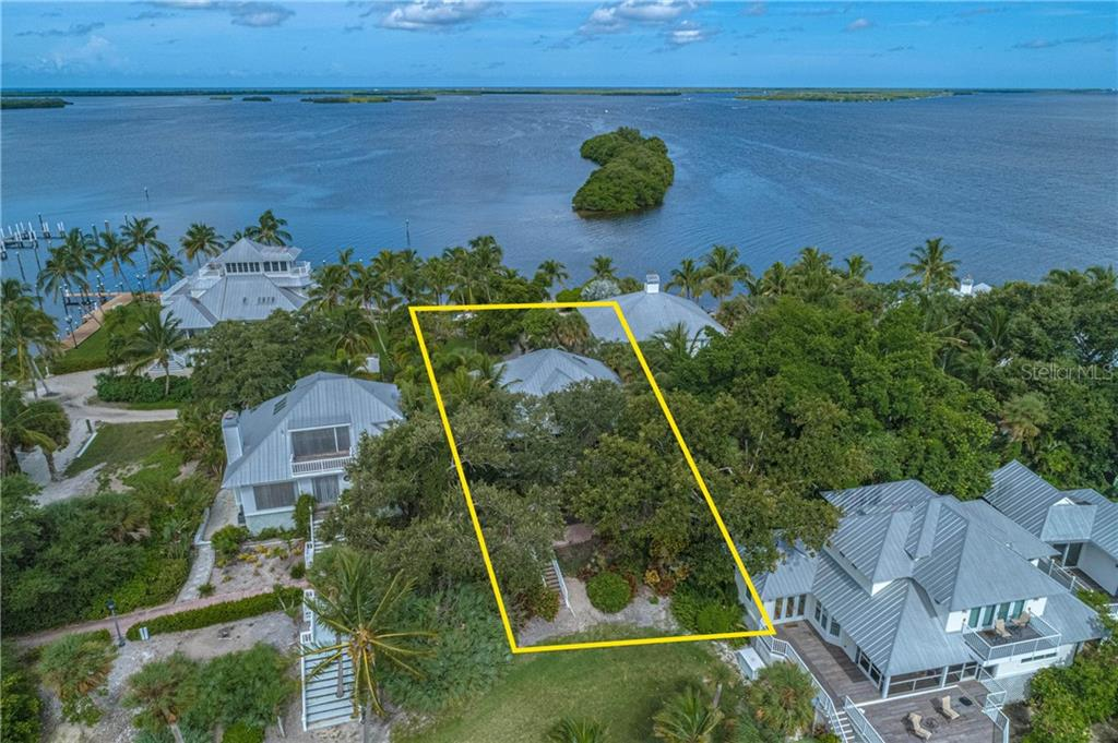 North view - Single Family Home for sale at 124 Useppa Is, Captiva, FL 33924 - MLS Number is C7419408