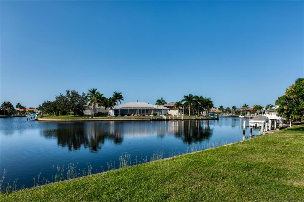 Intersecting canal view - Vacant Land for sale at 3567 Tripoli Blvd, Punta Gorda, FL 33950 - MLS Number is C7420403