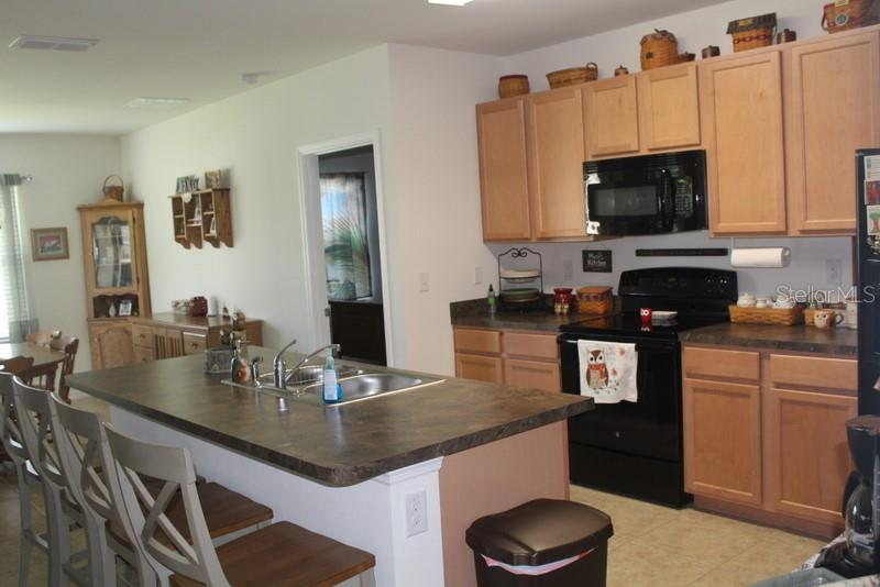 Kitchen w pantry - Single Family Home for sale at 25000 Lalique Pl, Punta Gorda, FL 33950 - MLS Number is C7421067