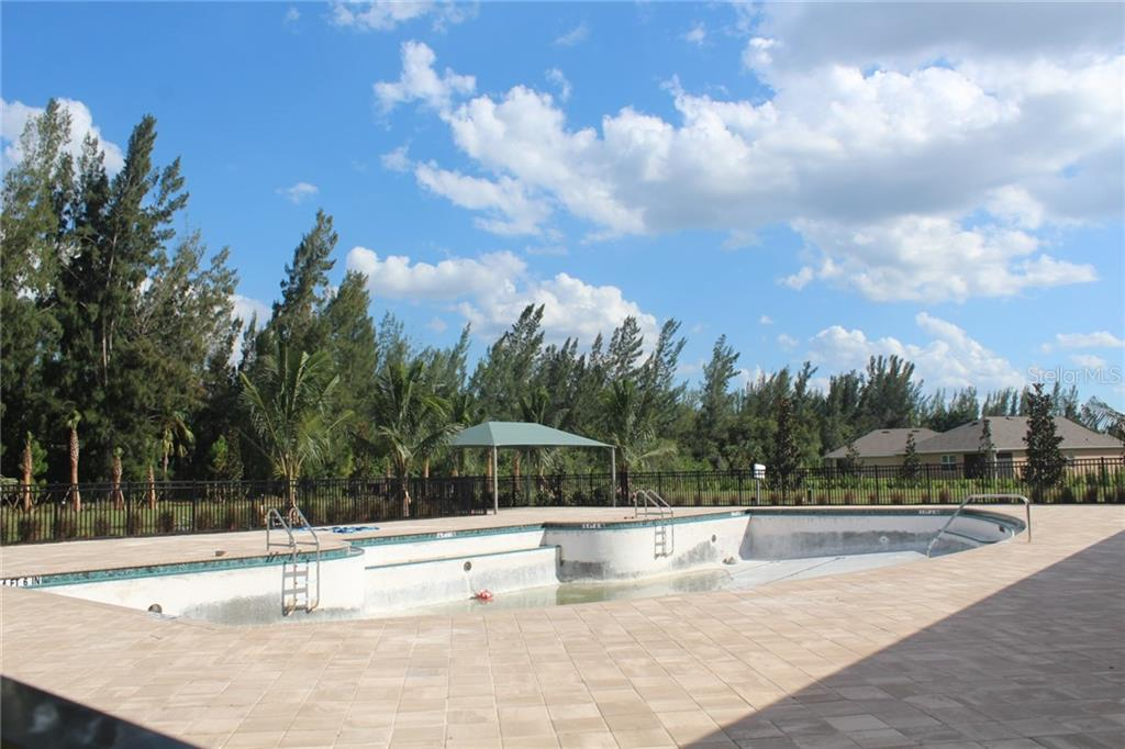 One of pools at Waterford - Single Family Home for sale at 25000 Lalique Pl, Punta Gorda, FL 33950 - MLS Number is C7421067