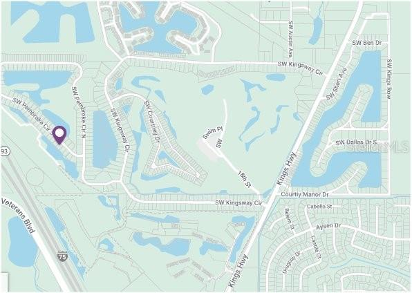 Plat Map - Vacant Land for sale at 12779 Sw Pembroke Cir, Lake Suzy, FL 34269 - MLS Number is C7433422
