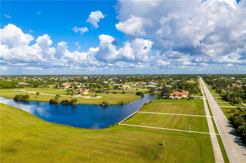 Land Survey - Vacant Land for sale at 23926 Vincent Ave, Punta Gorda, FL 33955 - MLS Number is C7435546