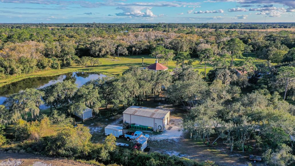 Shed/Warehouse - Single Family Home for sale at 1 Woodland Dr, Punta Gorda, FL 33982 - MLS Number is C7436906