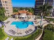 Elevated waterfront sun deck with hot tub & barbeque stations.  What more could you ask for? - Condo for sale at 3313 Sunset Key Cir #402, Punta Gorda, FL 33955 - MLS Number is C7236886