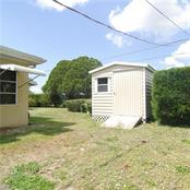 8X10 Shed in the back yard - Single Family Home for sale at 2195 Abscott St, Port Charlotte, FL 33952 - MLS Number is C7414291