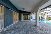 Plenty of space for entertaining on the lanai - Single Family Home for sale at 5001 Captiva Ct, Punta Gorda, FL 33950 - MLS Number is C7422558