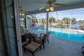 Great view of the pool and canal from your master bedroom. - Single Family Home for sale at 1440 Appian Dr, Punta Gorda, FL 33950 - MLS Number is C7425399
