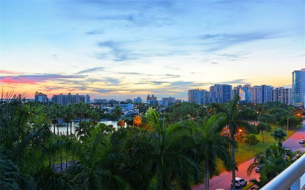 Sunset views over Dountown Sarasota - Condo for sale at 500 S Palm Ave #41, Sarasota, FL 34236 - MLS Number is A4144835