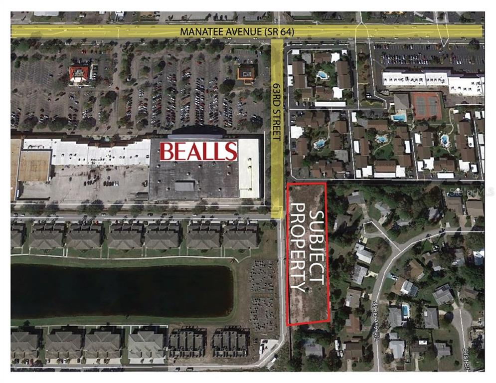 63rd Street Map General - Vacant Land for sale at 701 W 63, Bradenton, FL 34209 - MLS Number is A4156511