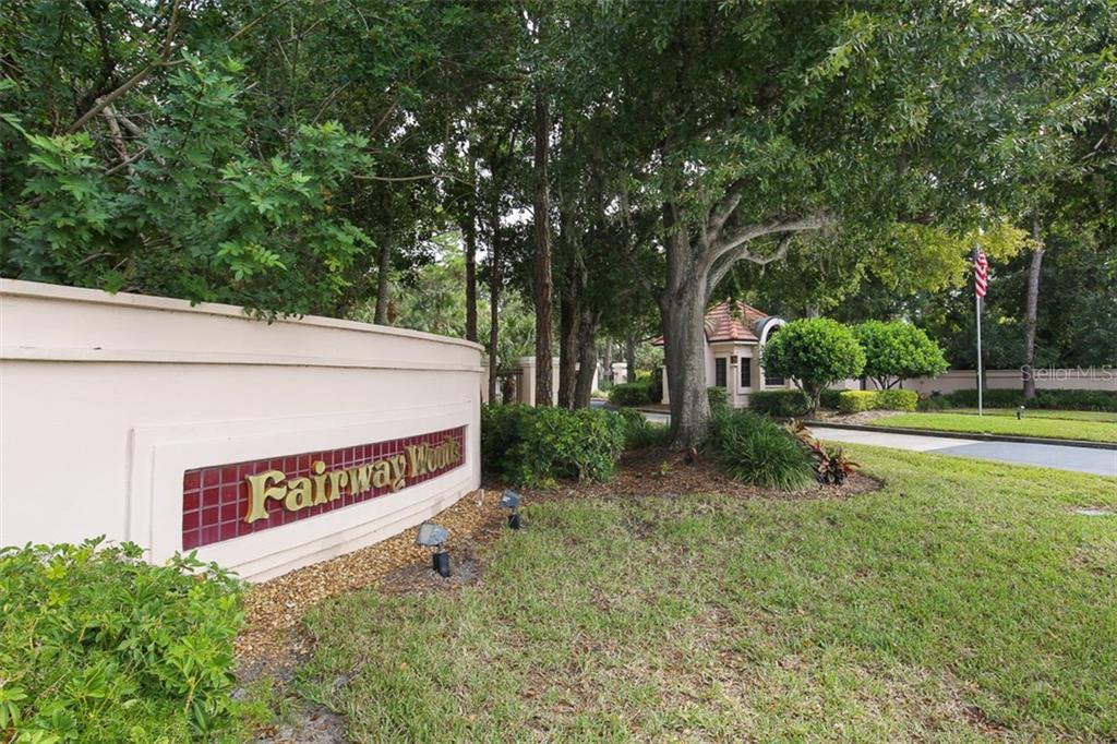Community entrance - Condo for sale at 7631 Fairway Woods Dr #601, Sarasota, FL 34238 - MLS Number is A4168292