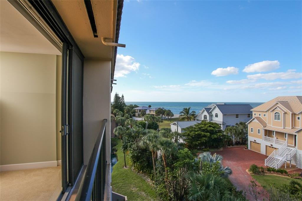 1st floor bedroom view - Condo for sale at 4900 Ocean Blvd #503, Sarasota, FL 34242 - MLS Number is A4171070