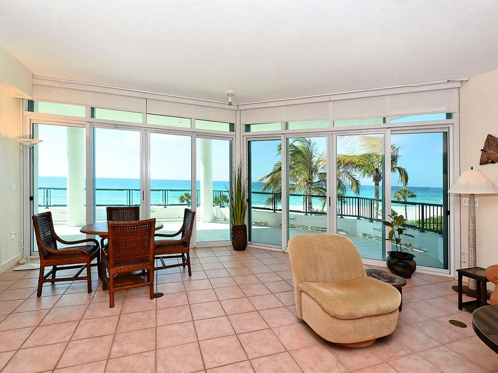 Living Room - Single Family Home for sale at 655 Longboat Club Rd #13a, Longboat Key, FL 34228 - MLS Number is A4171637