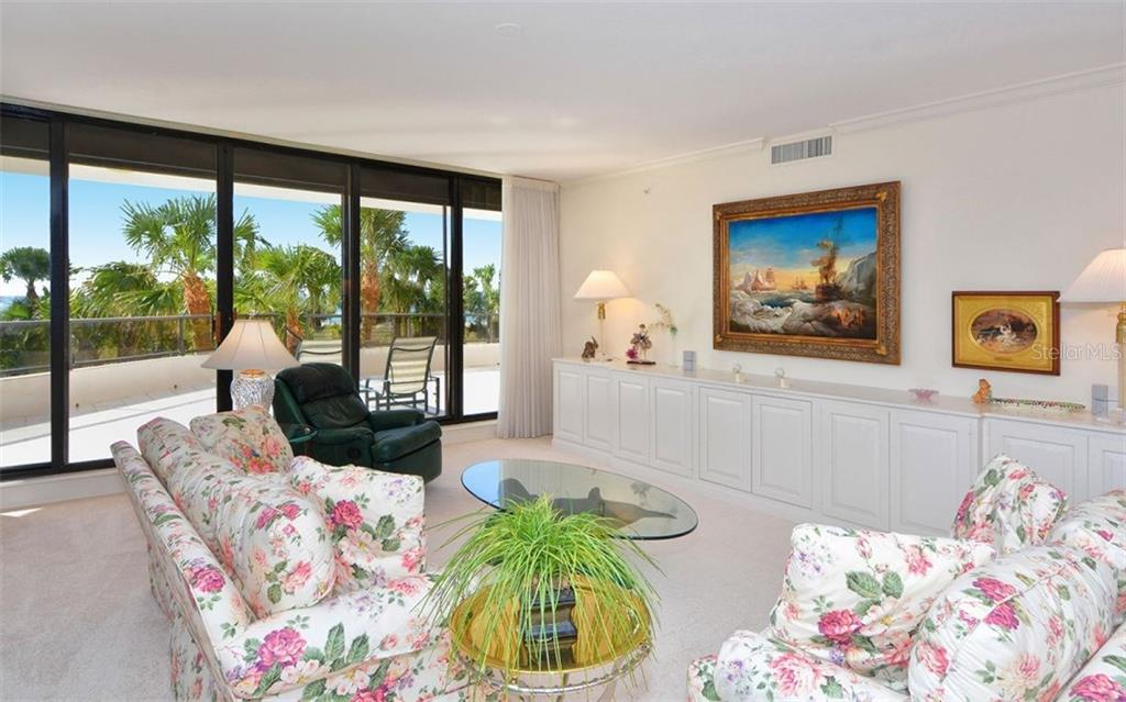 Living Room - Condo for sale at 535 Sanctuary Dr #c108, Longboat Key, FL 34228 - MLS Number is A4172623