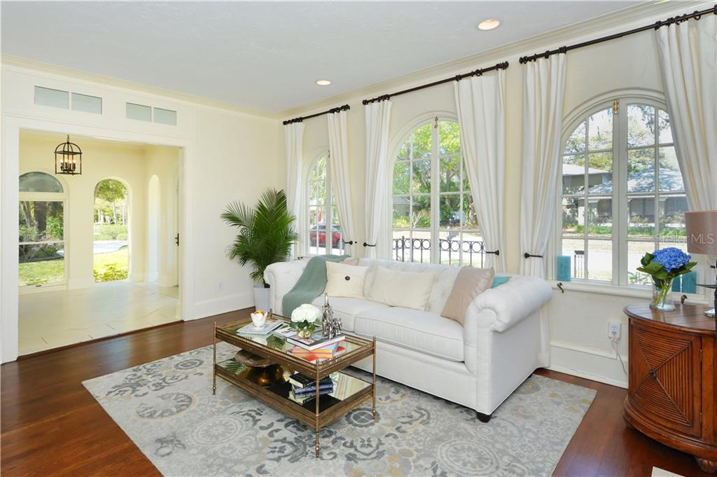 Living Room - Single Family Home for sale at 1896 Hibiscus St, Sarasota, FL 34239 - MLS Number is A4180775