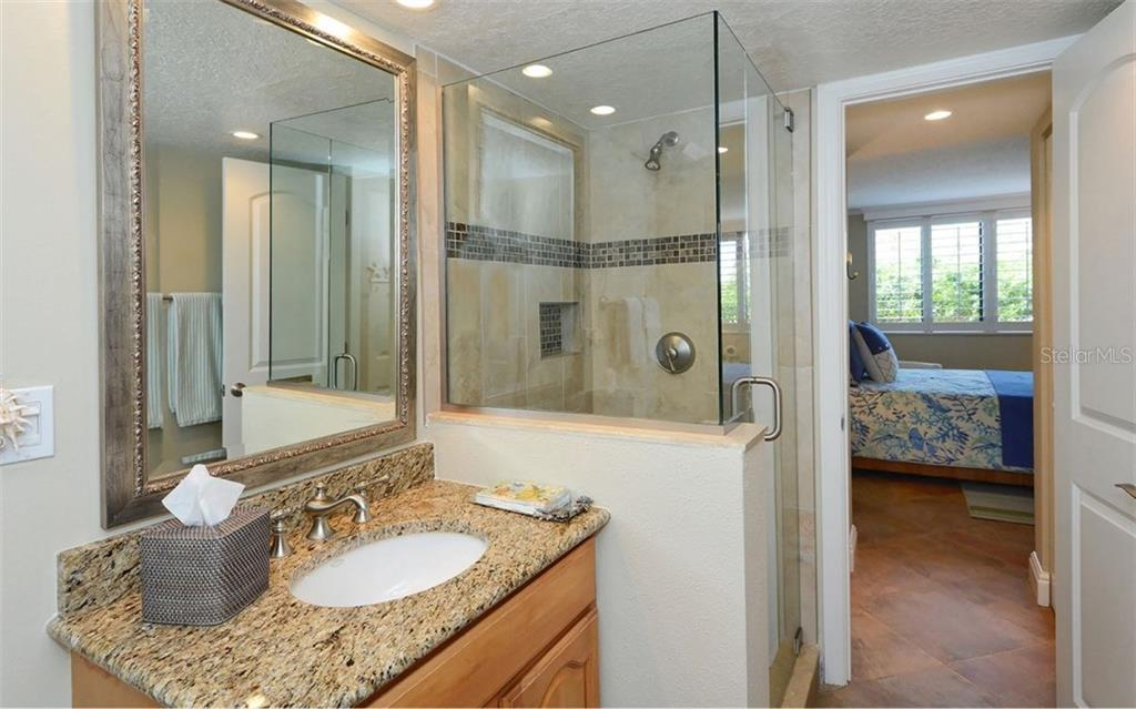 2nd bathroom - Condo for sale at 6263 Midnight Pass Rd #101, Sarasota, FL 34242 - MLS Number is A4182245