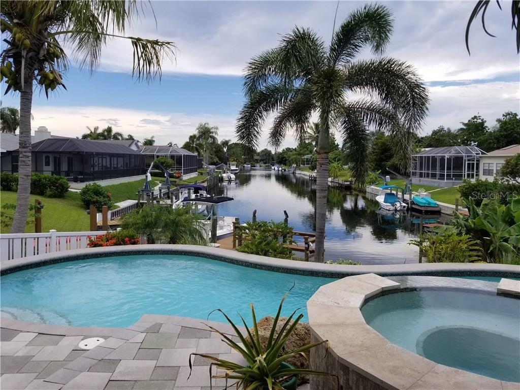 Heated Saltwater Pool and Spa - Single Family Home for sale at 8916 44th Avenue Dr W, Bradenton, FL 34210 - MLS Number is A4186449