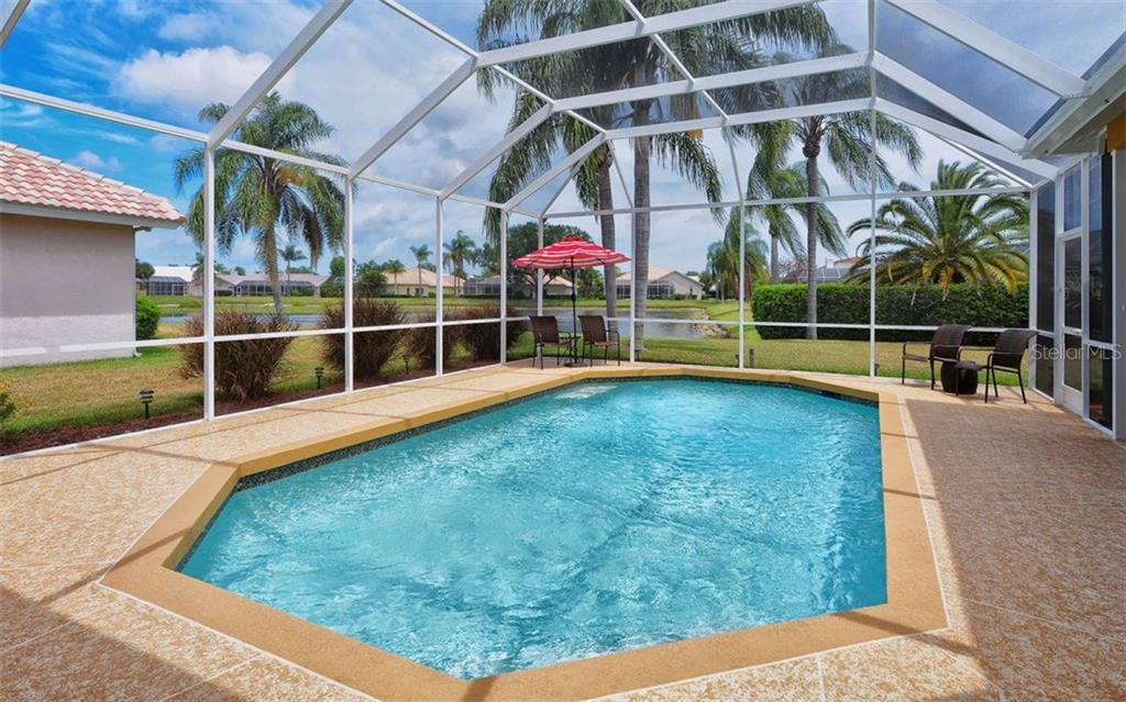 New coping and pool pump system. - Single Family Home for sale at 4121 Via Mirada, Sarasota, FL 34238 - MLS Number is A4186485