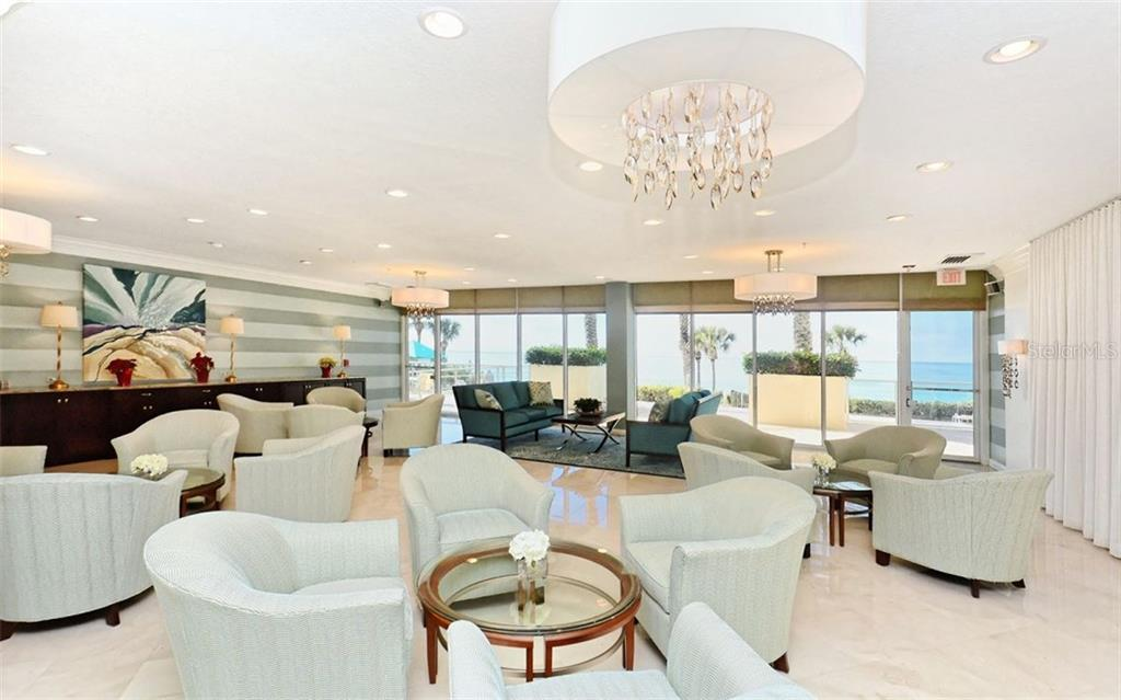 New poolside lobby - Condo for sale at 1800 Benjamin Franklin Dr #a202, Sarasota, FL 34236 - MLS Number is A4187131