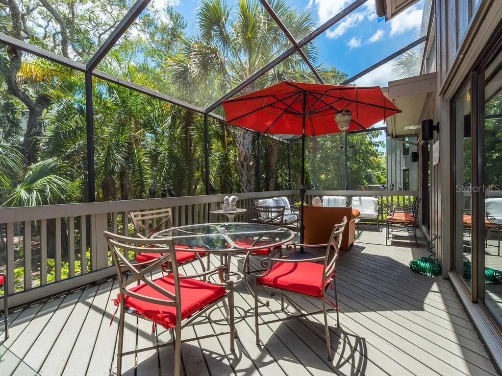 Screened deck - Condo for sale at 1380 Landings Pt #26, Sarasota, FL 34231 - MLS Number is A4187270