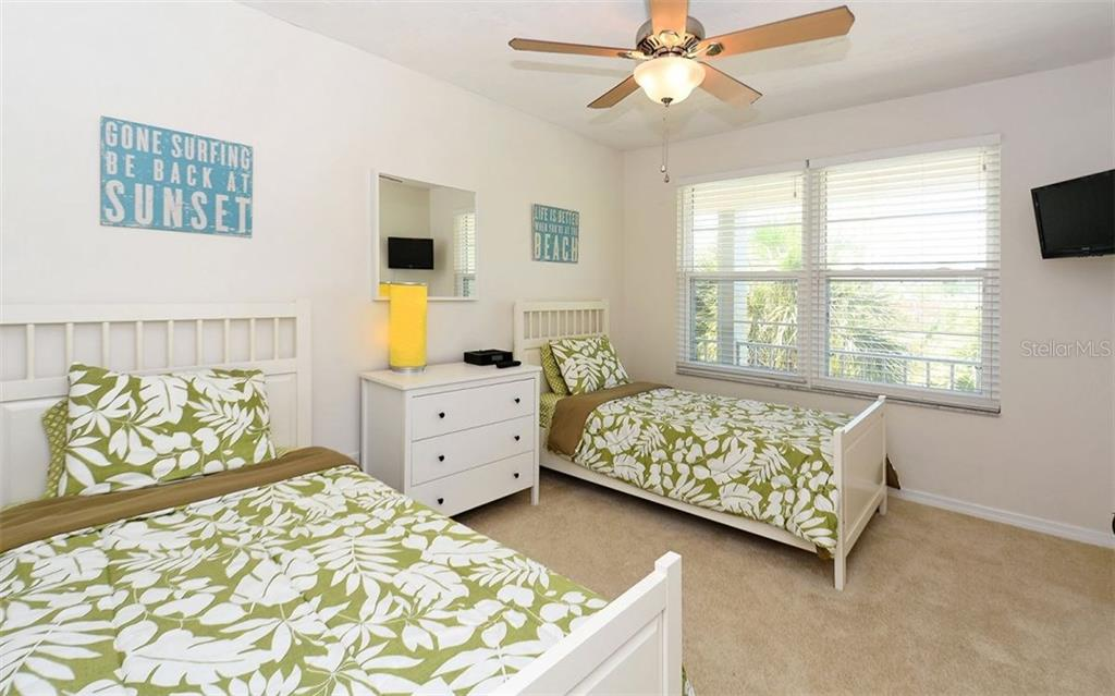 Second Bedroom - Condo for sale at 4330 Falmouth Dr #307, Longboat Key, FL 34228 - MLS Number is A4187329