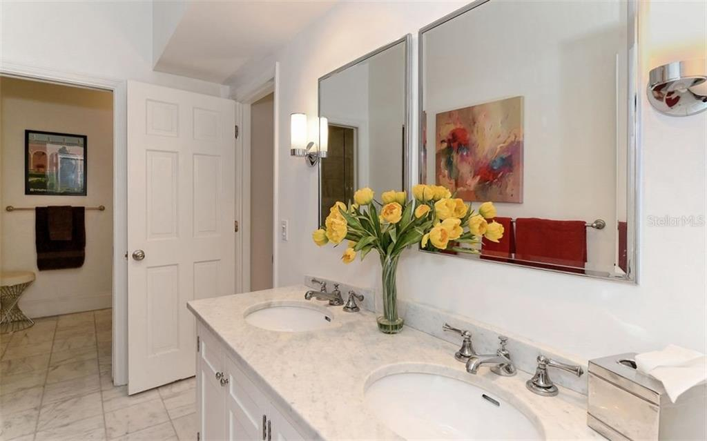 Master Bath w/Dual sinks - Townhouse for sale at 68 Bishops Court Rd #115, Osprey, FL 34229 - MLS Number is A4187983