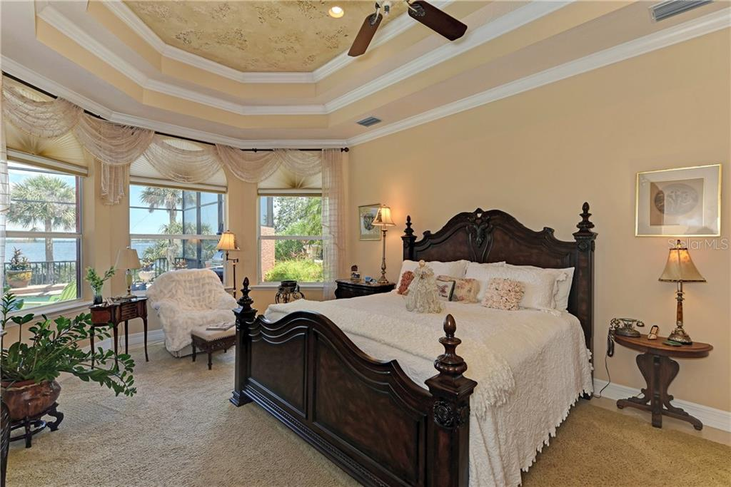 Master suite with stunning views of the river - Single Family Home for sale at 370 Highland Shores Dr, Ellenton, FL 34222 - MLS Number is A4188456