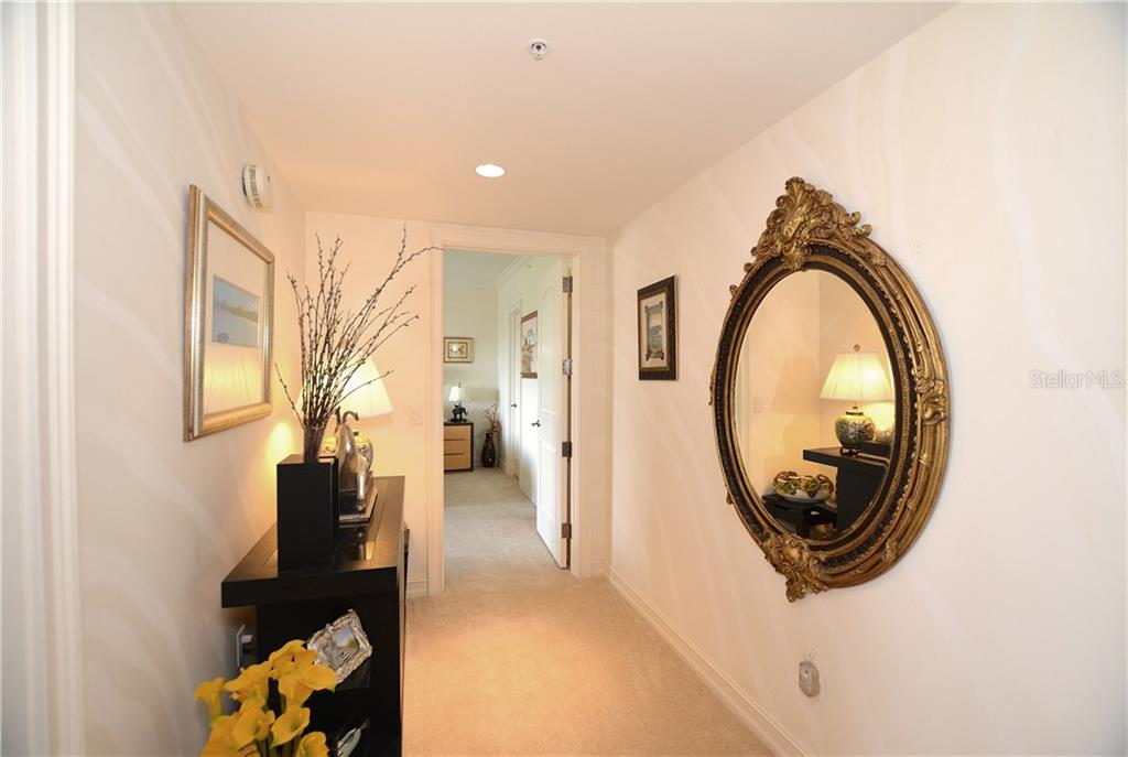 Spacious and elegant hallway. - Condo for sale at 1111 Ritz Carlton Dr #1505, Sarasota, FL 34236 - MLS Number is A4188921