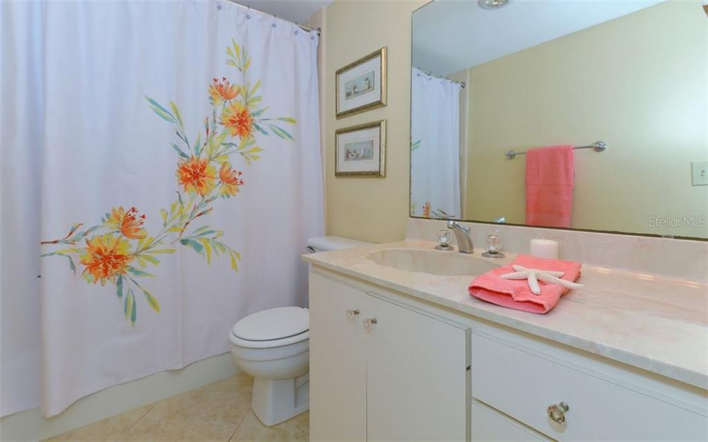 2nd bathroom - Condo for sale at 6300 Midnight Pass Rd #806, Sarasota, FL 34242 - MLS Number is A4189340