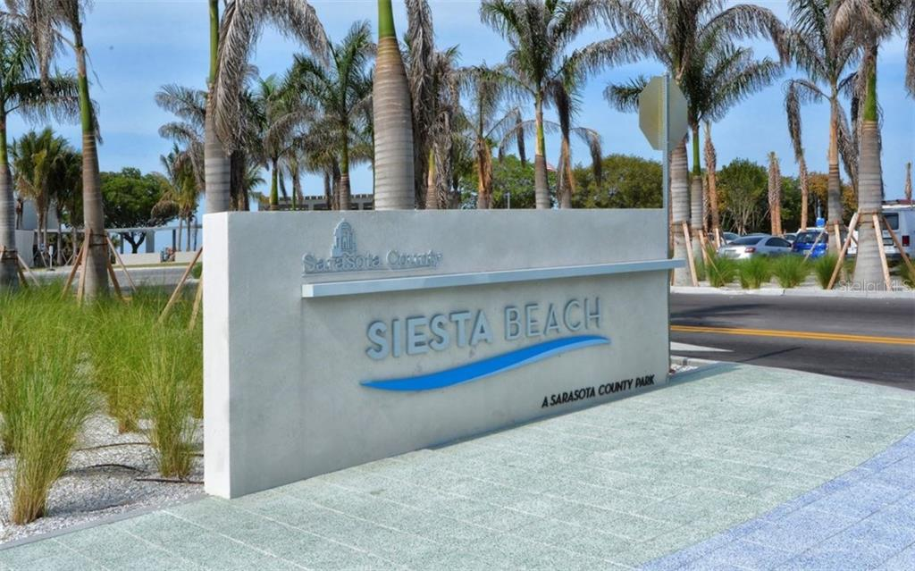 Siesta Key Beach entrance - Condo for sale at 6300 Midnight Pass Rd #806, Sarasota, FL 34242 - MLS Number is A4189340