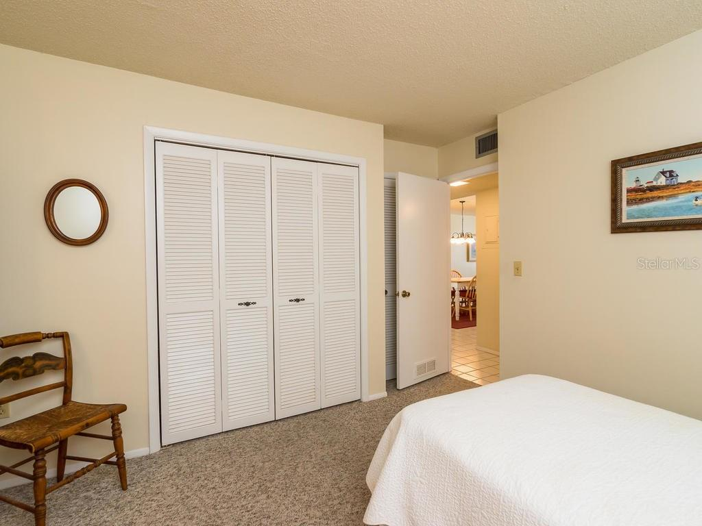 Bedroom 2 - Condo for sale at 19 Whispering Sands Dr #205, Sarasota, FL 34242 - MLS Number is A4189914