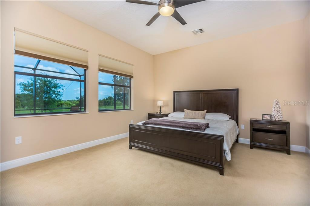 Master bedroom - Single Family Home for sale at 23883 Waverly Cir, Venice, FL 34293 - MLS Number is A4190222