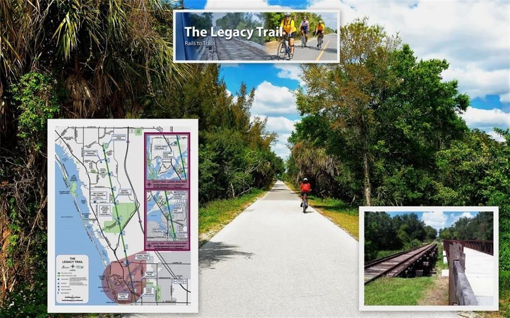 The Legacy Trail for biking, walking & jogging - Condo for sale at 104 Woodland Pl #104, Osprey, FL 34229 - MLS Number is A4190676