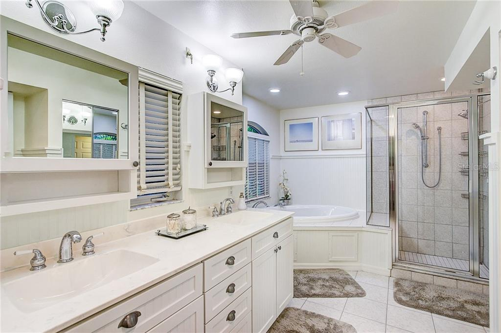 Master Bathroom 1 ~ 3rd Floor - Single Family Home for sale at 2502 Avenue B, Bradenton Beach, FL 34217 - MLS Number is A4191682