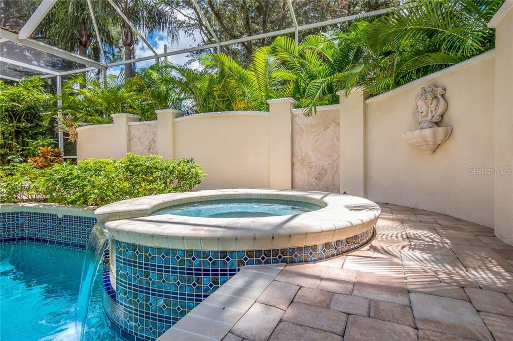 This pool has pop up cleaning features with remote control system. - Single Family Home for sale at 8019 Collingwood Ct, University Park, FL 34201 - MLS Number is A4193802