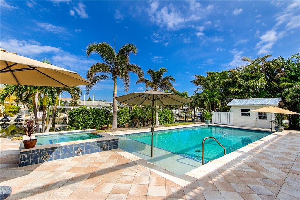 Pool and Spa - Single Family Home for sale at 504 75th St, Holmes Beach, FL 34217 - MLS Number is A4196523