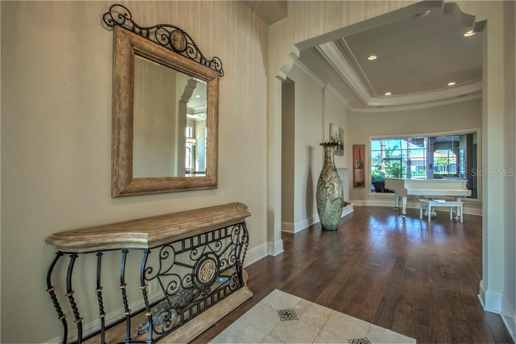 Great open foyer welcoming you to your new home!! - Single Family Home for sale at 548 Fore Dr, Bradenton, FL 34208 - MLS Number is A4196590
