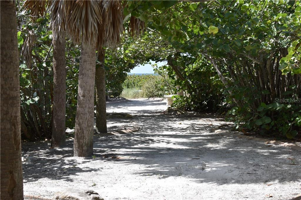 Your walkway to the Gulf of Mexico from Your deeded access. - Single Family Home for sale at 1133 Riviera St, Venice, FL 34285 - MLS Number is A4197682