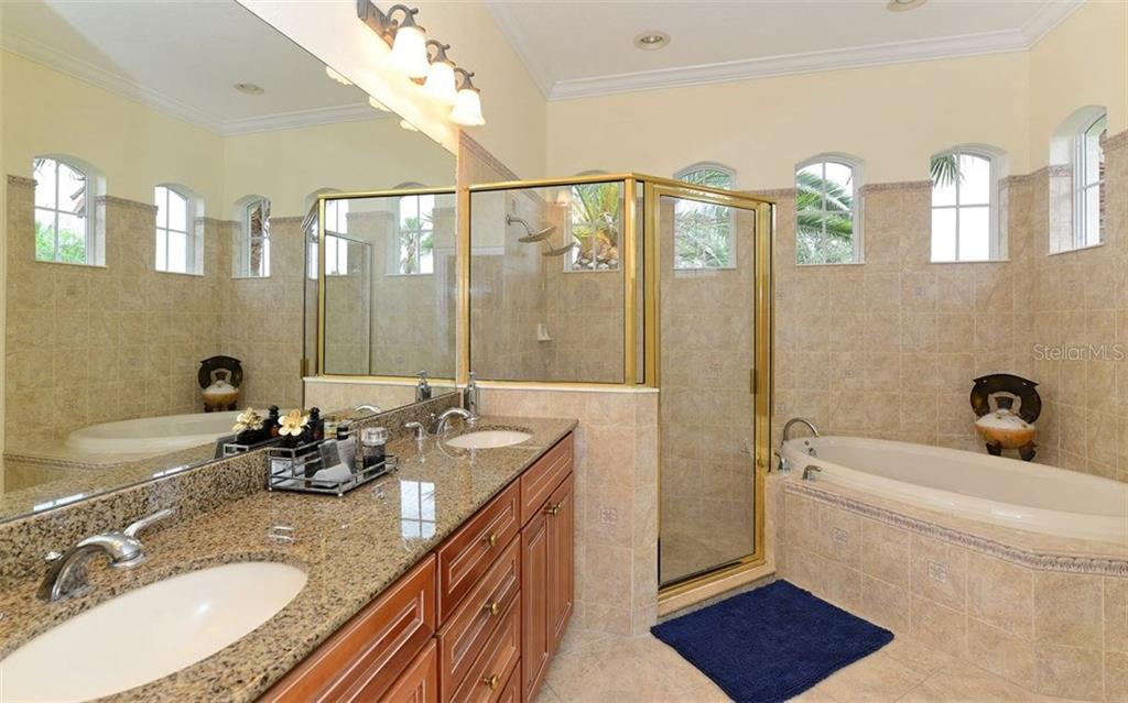 Master Bath - Single Family Home for sale at 9919 Portside Ter, Bradenton, FL 34212 - MLS Number is A4197815
