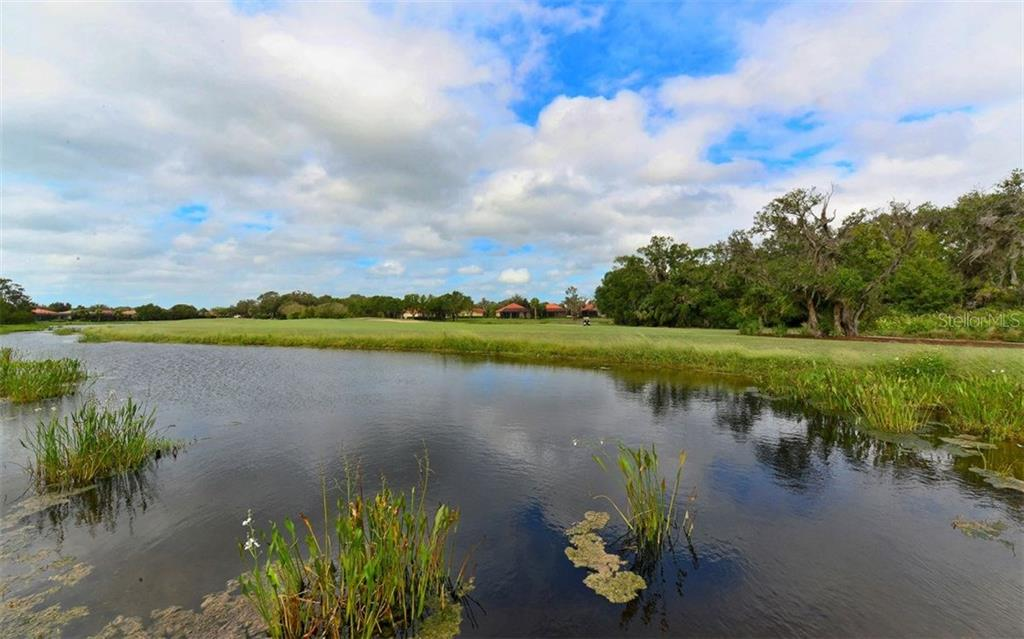 Pond across to golf - Single Family Home for sale at 9919 Portside Ter, Bradenton, FL 34212 - MLS Number is A4197815