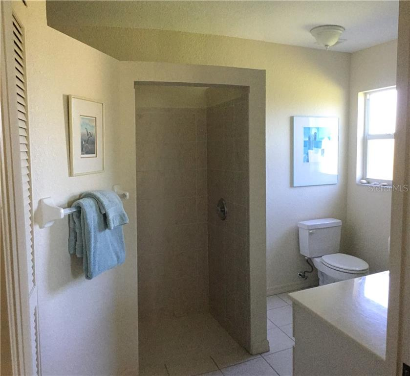 Master Walk-in Shower - Single Family Home for sale at 6320 Hera St, Englewood, FL 34224 - MLS Number is A4200968