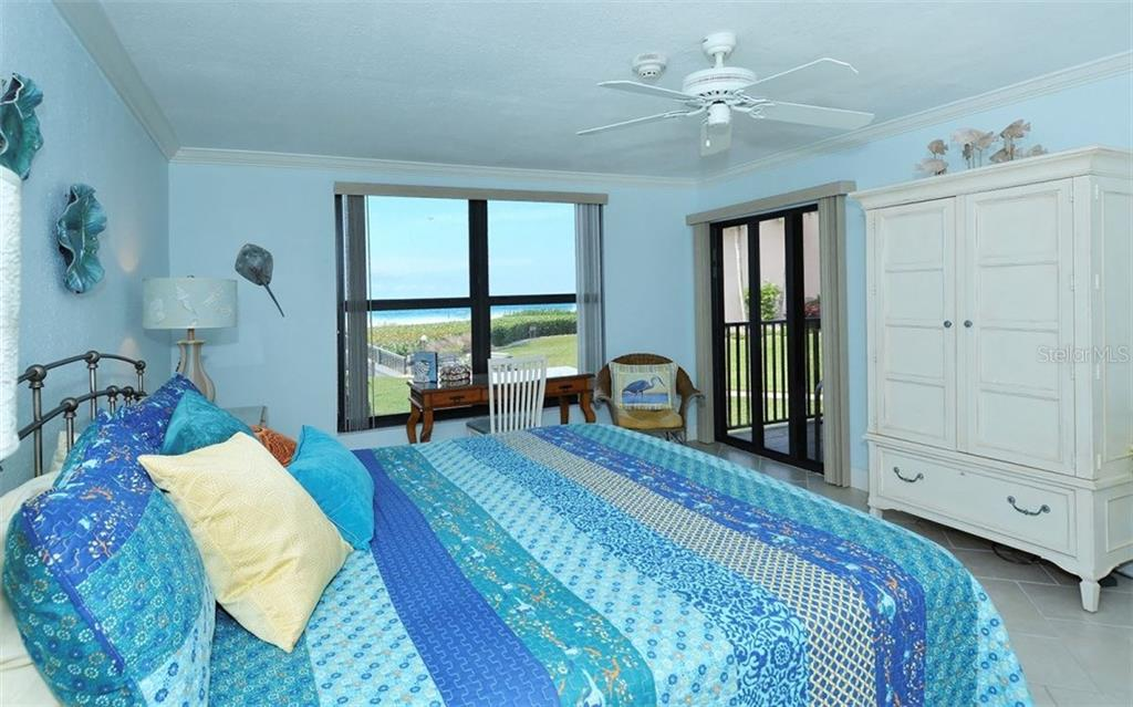 Master bedroom - Condo for sale at 6480 Midnight Pass Rd #217, Sarasota, FL 34242 - MLS Number is A4202790