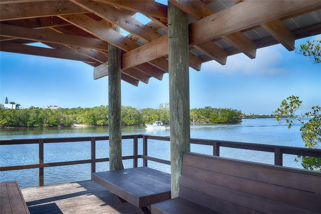 Nature Trail to waterway. - Condo for sale at 1618 Starling Dr #105, Sarasota, FL 34231 - MLS Number is A4204864