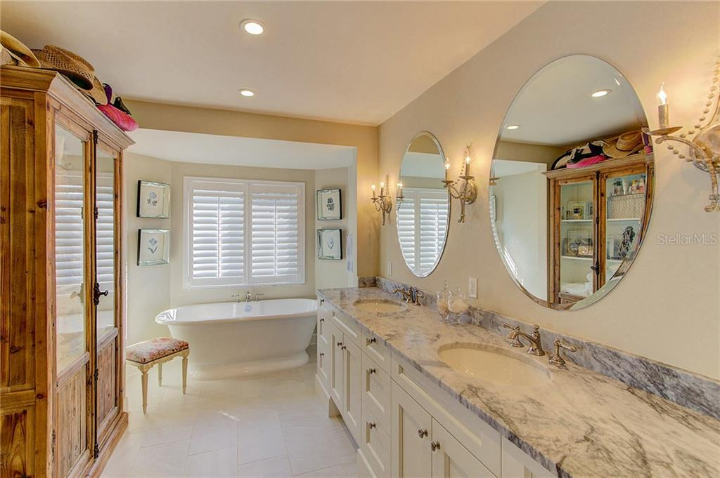 Picture yourself soaking in this gorgeous Victoria Albert tub! - Single Family Home for sale at 3508 Avenida Madera, Bradenton, FL 34210 - MLS Number is A4205393