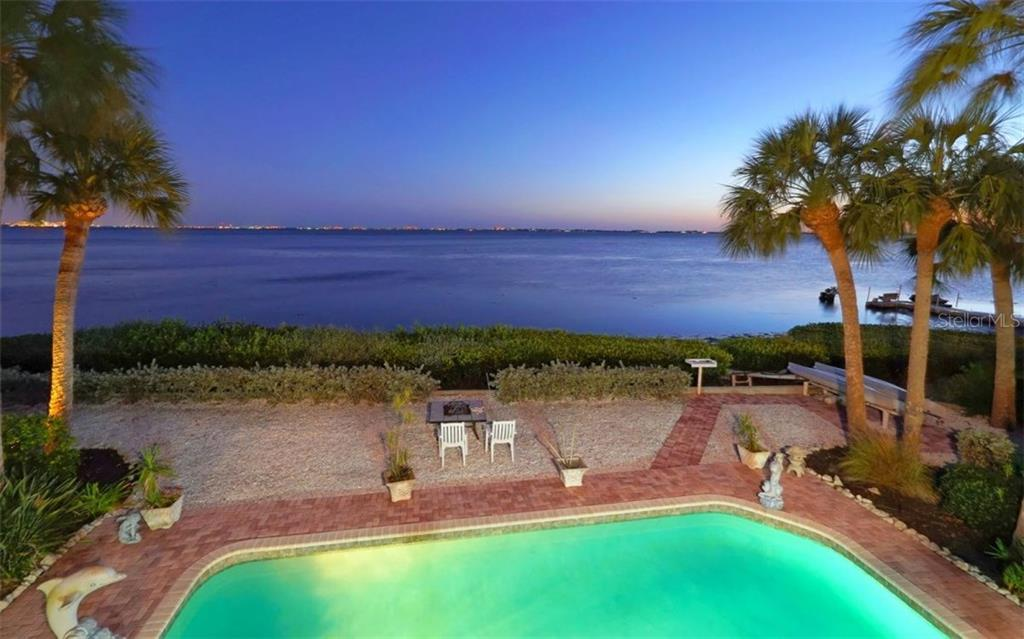 Breathtaking view day or night! - Single Family Home for sale at 3908 Bayside Dr, Bradenton, FL 34210 - MLS Number is A4207355
