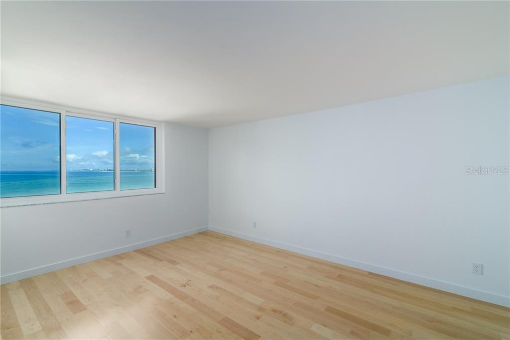 2nd Master bedroom with beautiful Gulf views - Condo for sale at 4822 Ocean Blvd #11d, Sarasota, FL 34242 - MLS Number is A4209955