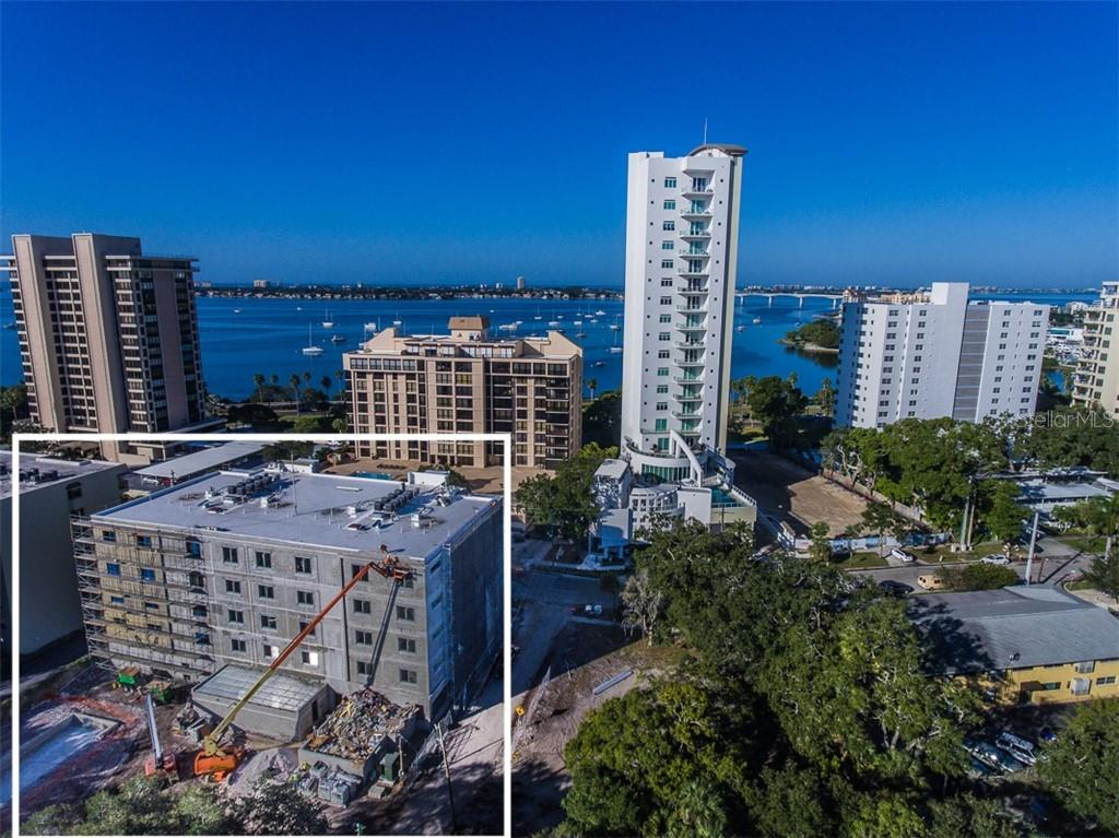 It's just .33 mile to the corner of Main St. & Palm Avenue- for shopping, dining or a leisurely stroll. - Condo for sale at 711 S Palm Ave #502, Sarasota, FL 34236 - MLS Number is A4210163