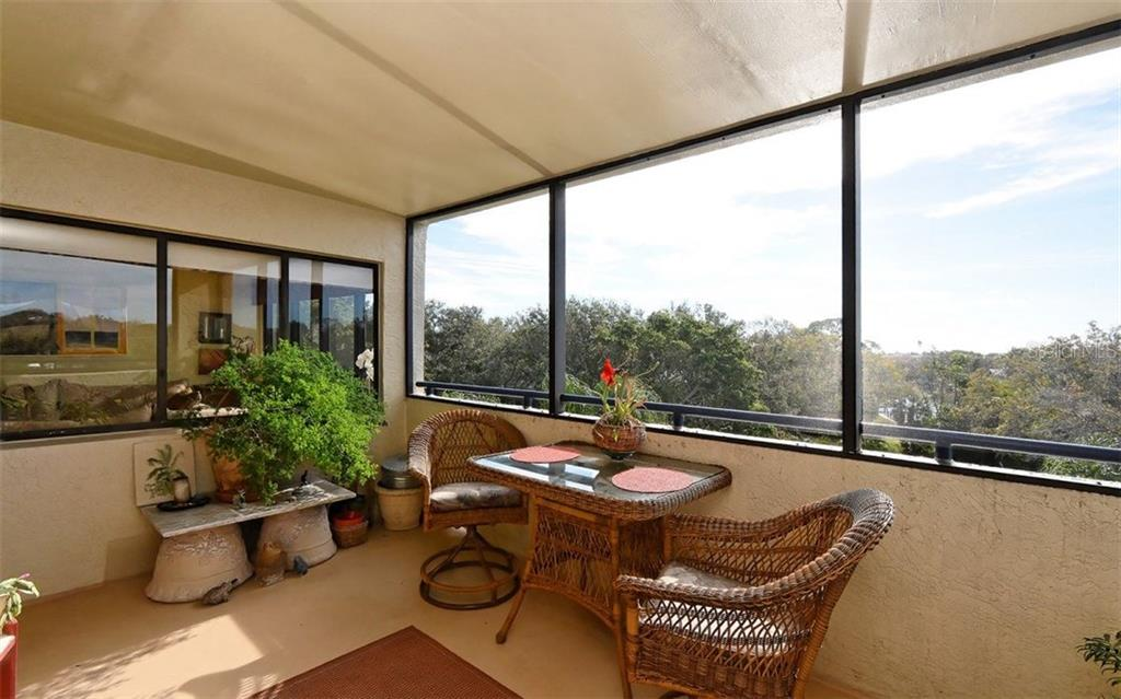 Covered balcony - Condo for sale at 835 S Osprey Ave #314, Sarasota, FL 34236 - MLS Number is A4210271