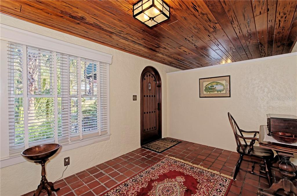Foyer - Single Family Home for sale at 1874 Wisteria St, Sarasota, FL 34239 - MLS Number is A4211659