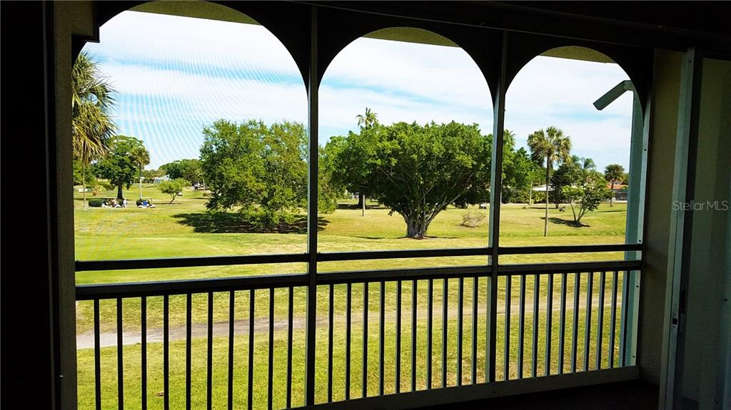 Deck off of Living Room - Condo for sale at 3465 Bee Ridge Rd #323, Sarasota, FL 34239 - MLS Number is A4213622