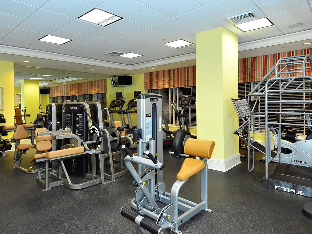 State of the Art Fitness Center - Condo for sale at 1300 Benjamin Franklin Dr #603, Sarasota, FL 34236 - MLS Number is A4213631